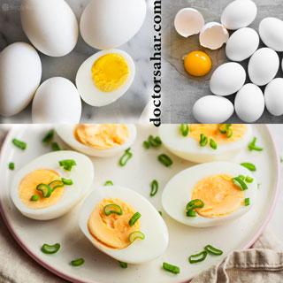 تخم مرغ برای کنترل دیابت