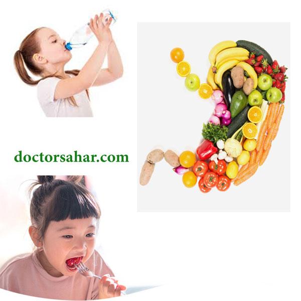 درمان یبوست کودکان و نوزادان