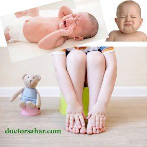 درمان یبوست کودکان و نوزادان چگونه است؟